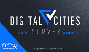 2020 Digital Cities Winner Logo
