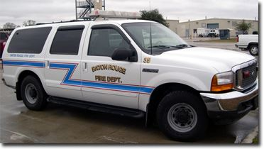 District Chiefs White Excursion Response Vehicle